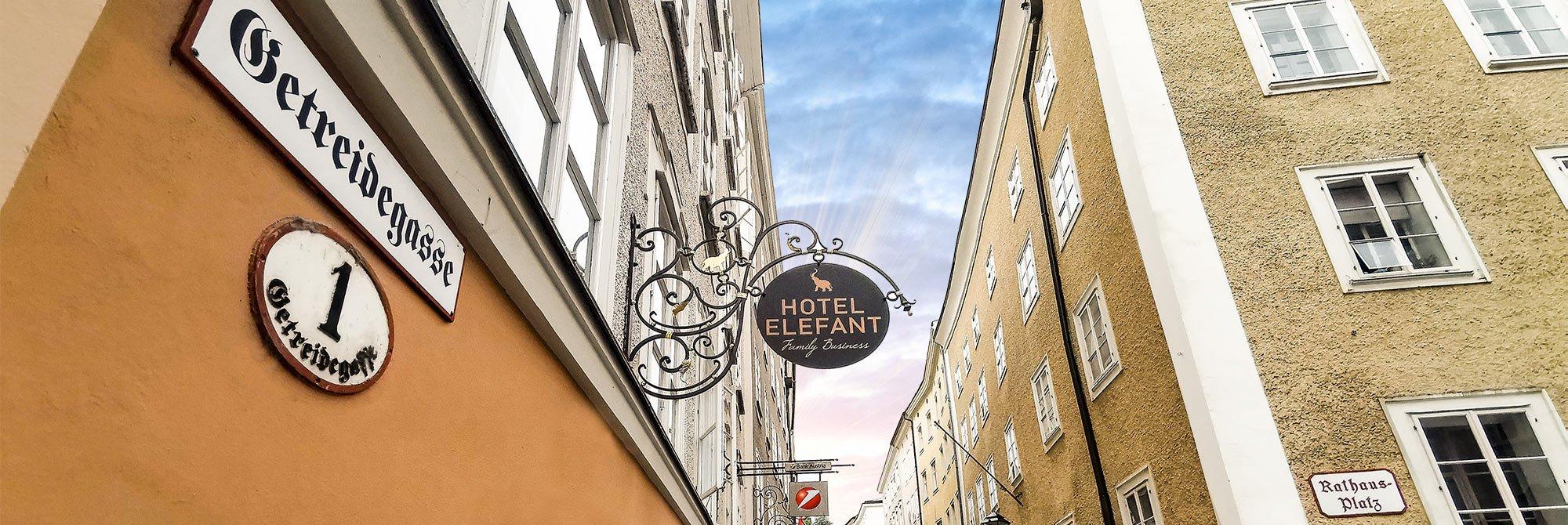 Hotel Elefant Family Business Getreidegasse 1